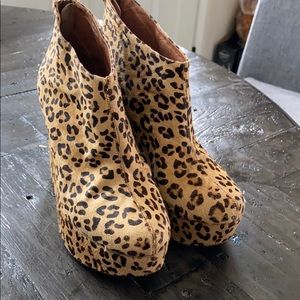 Jeffrey Campbell Leopard Wedges